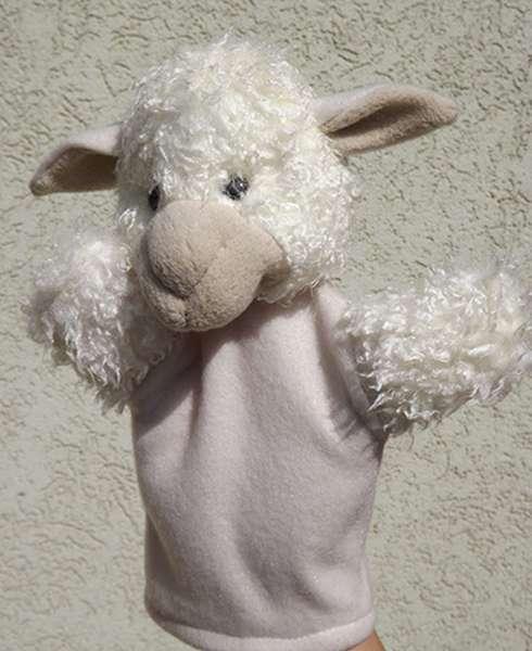 Bárány kesztyűbáb