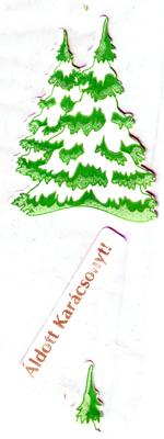 Csomagolófólia karácsonyra /50%