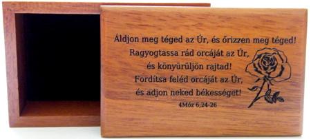 Doboz, fa (Áldjon meg) - BEP-351H
