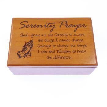 Doboz, fa (Serenity Prayer) - BEP4-184