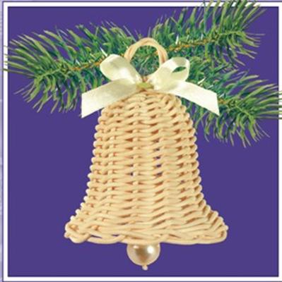 Fonott harang - kosárfonó kézműves csomag