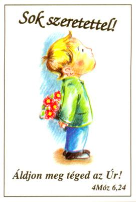 Sok szeretettel! - kártya