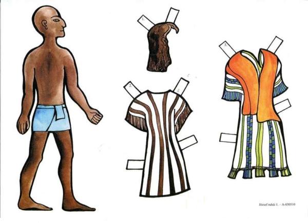 József ruhái (színes)