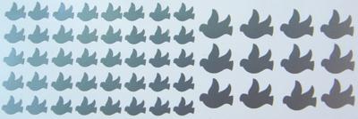 Matrica galambok