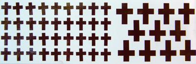 Matrica keresztek