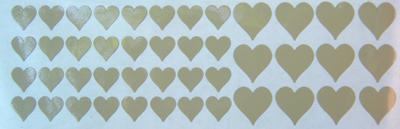 Matrica szívek