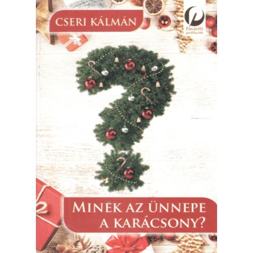 Minek az ünnepe a karácsony?