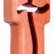 Kereszt, álló, fa - CA01-1