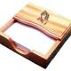 Jegyzetpapírtartó, fa, imádkozó kéz, GNP1-345