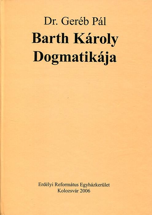 Barth Károly Dogmatikája