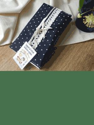 Papír zsebkendő-tartó