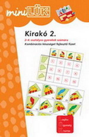 Mini LÜK füzet - Kirakó 2.