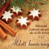 Karácsonyi üdvözlő kártyák