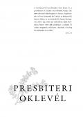 Presbiteri oklevél