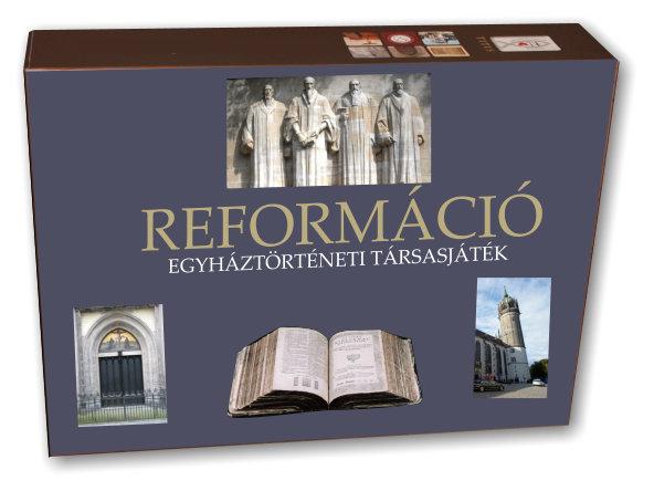 Reformáció - Egyháztörténeti társasjáték