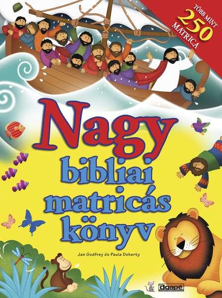 Nagy bibliai matricás könyv