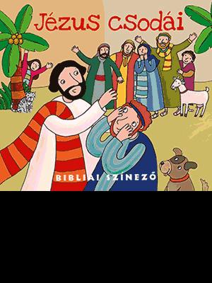 Jézus csodái - bibliai színező