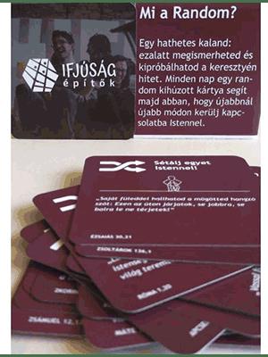 RANDOM - segédanyag/kártya